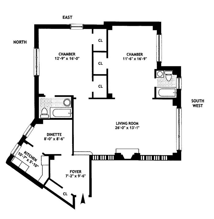 302 West 12th Street, West Village, NYC, $3,525,000, Web #: 9116422