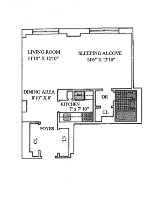170 West End Avenue, Upper West Side, NYC, $360,000, Web #: 912206