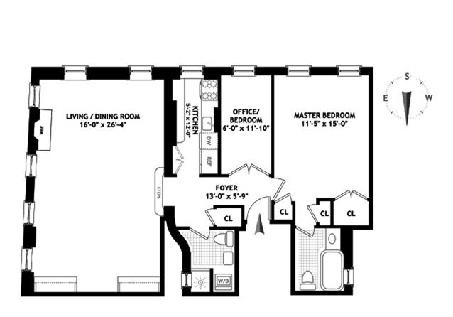 541 East 72nd Street, Upper East Side, NYC, $862,000, Web #: 9122860