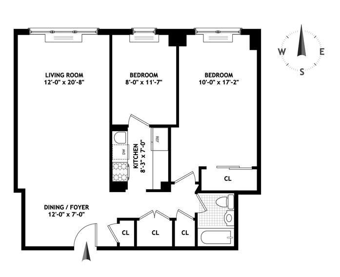 200 East 27th Street, Murray Hill/Kips Bay, NYC, $760,000, Web #: 9122905