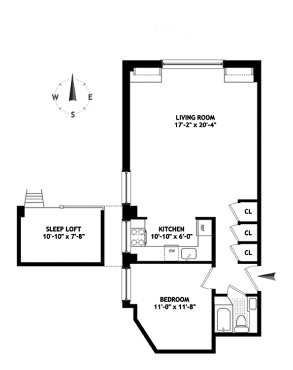 15 West 67th Street, Upper West Side, NYC, $850,000, Web #: 9165467