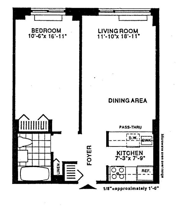 2 South End Avenue, Battery Park City, NYC, $440,000, Web #: 917999
