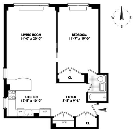 2 Horatio Street, West Village, NYC, $1,475,000, Web #: 9182365