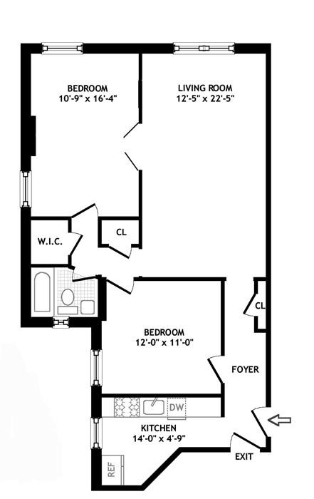 120 East 86th Street, Upper East Side, NYC, $750,000, Web #: 922546