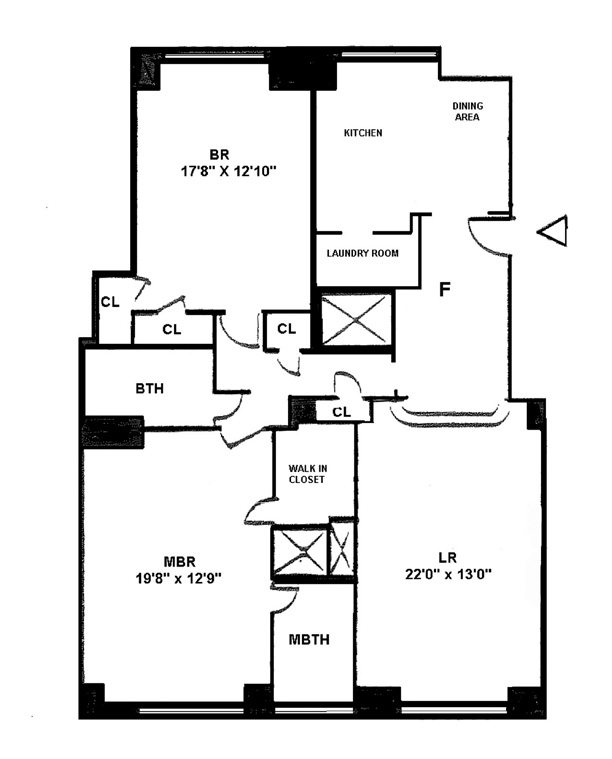 25 Central Park West, Upper West Side, NYC, $2,525,000, Web #: 9379520