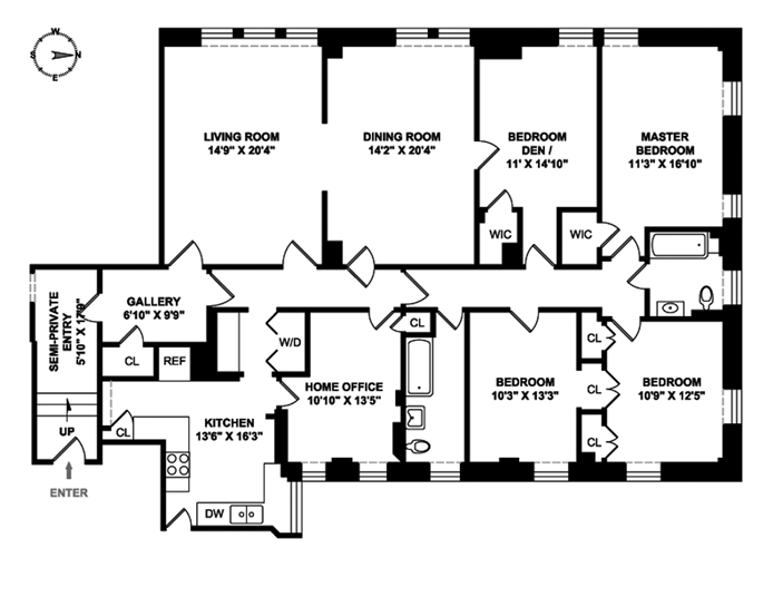465 West End Avenue, Upper West Side, NYC, $2,727,000, Web #: 9419928