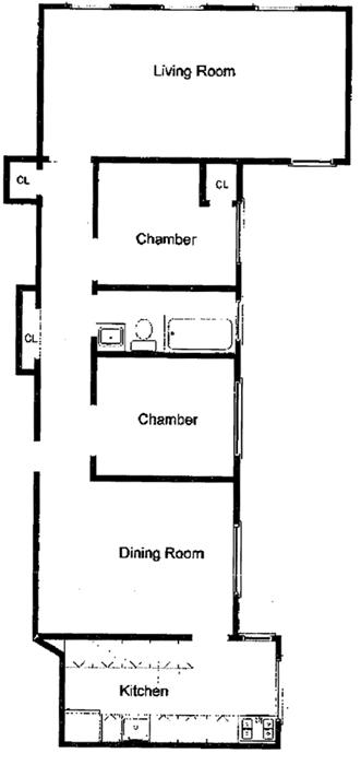 126 West 11th Street, Greenwich Village/Chelsea, NYC, $1,250,000, Web #: 944391