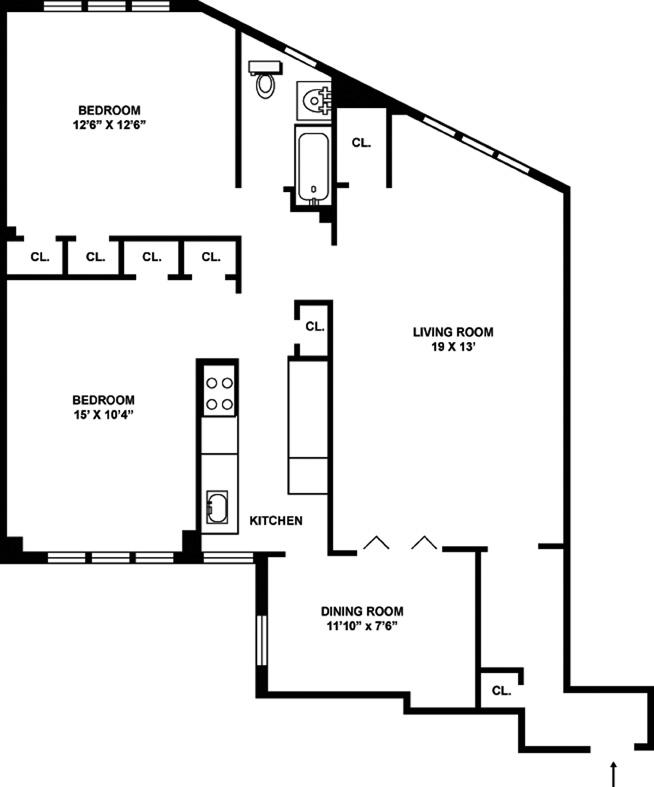 314 East 41st Street, Midtown East, NYC, $785,000, Web #: 9535287
