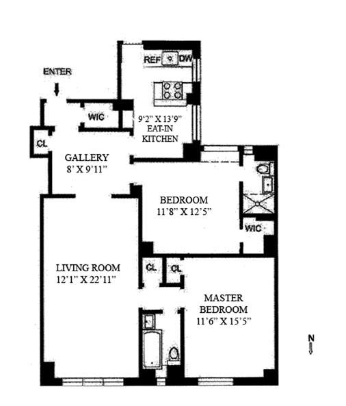 240 East 79th Street, Upper East Side, NYC, $1,350,000, Web #: 9546645