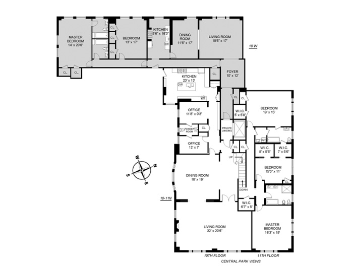 88 Central Park West, Upper West Side, NYC, $22,500,000, Web #: 9591187