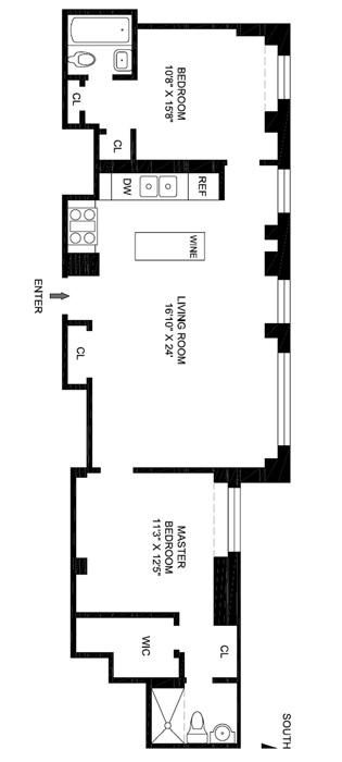 2166 Broadway, Upper West Side, NYC, $850,000, Web #: 961039
