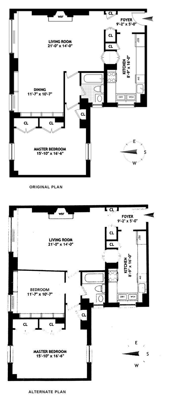 455 East 57th Street, Midtown East, NYC, $720,000, Web #: 9610996
