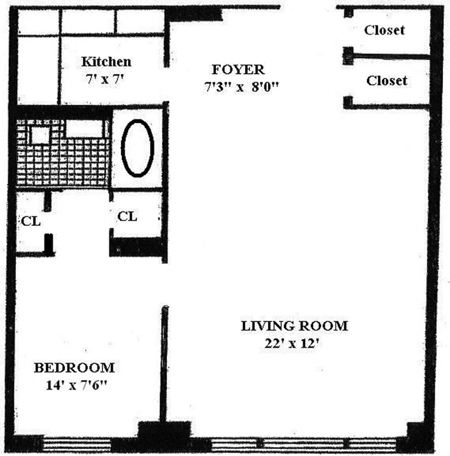 174 East 74th Street, Upper East Side, NYC, $460,000, Web #: 963578