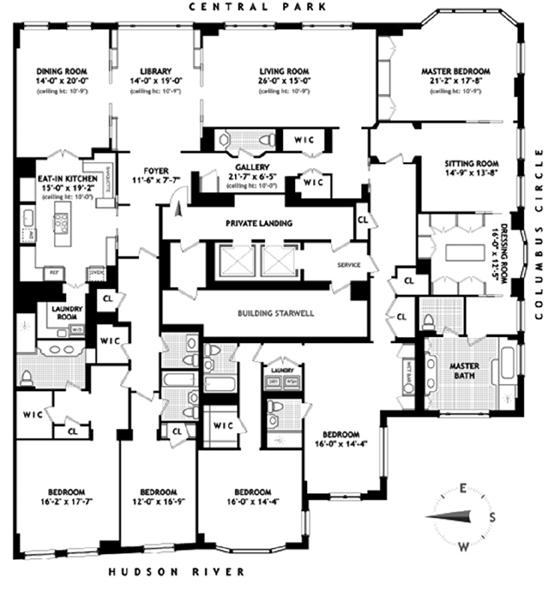 Central Park West, Upper West Side, NYC, $0, Web #: 9668728