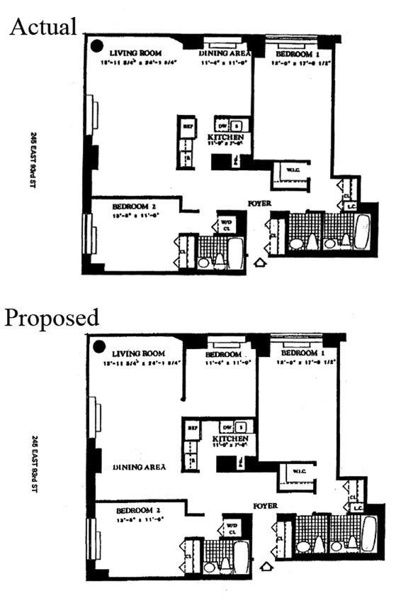245 East 93rd Street, Upper East Side, NYC, $1,600,000, Web #: 9685239