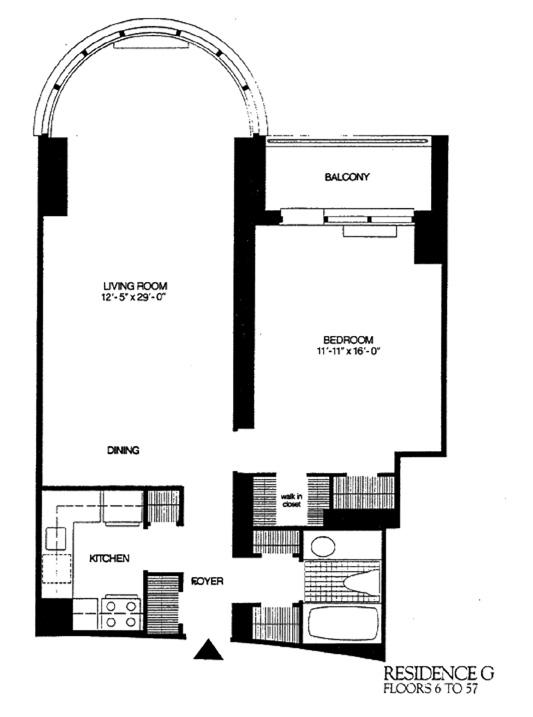 330 East 38th Street, Midtown East, NYC, $820,000, Web #: 9685330
