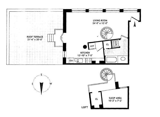 9 East 13th Street, East Village, NYC, $775,000, Web #: 969072