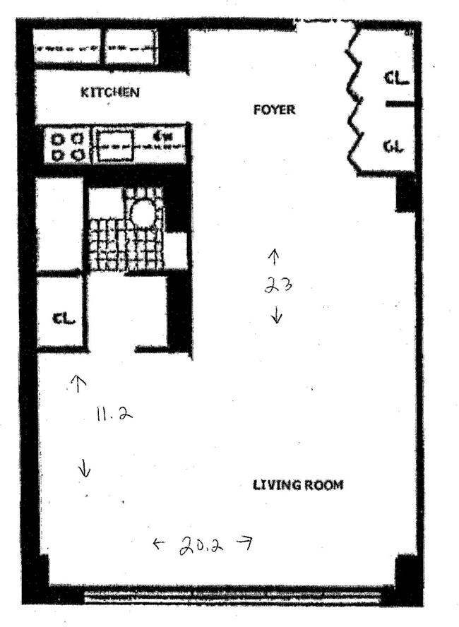 520 East 72nd Street, Upper East Side, NYC, $368,000, Web #: 969665