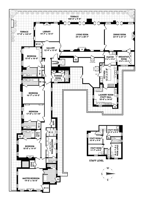 960 Fifth Avenue, Upper East Side, NYC, $70,000,000, Web #: 9745673