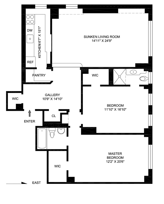 2 Sutton Place South, Midtown East, NYC, $1,150,000, Web #: 975132