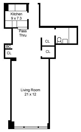 520 East 72nd Street, Upper East Side, NYC, $320,000, Web #: 975446