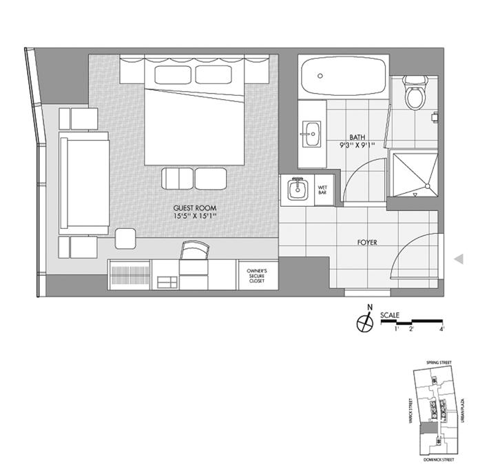 246 Spring Street, Tribeca/SOHO/Chinatown, NYC, $777,000, Web #: 9774904