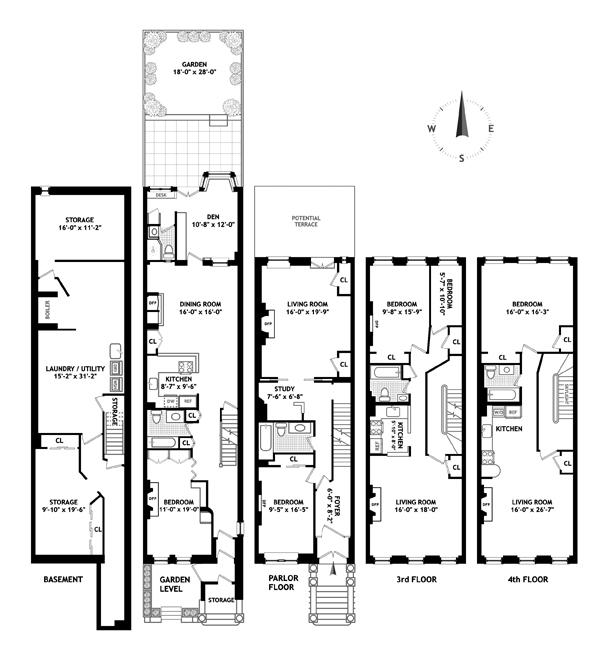 West 84th Street, Upper West Side, NYC, $5,050,000, Web #: 9803102