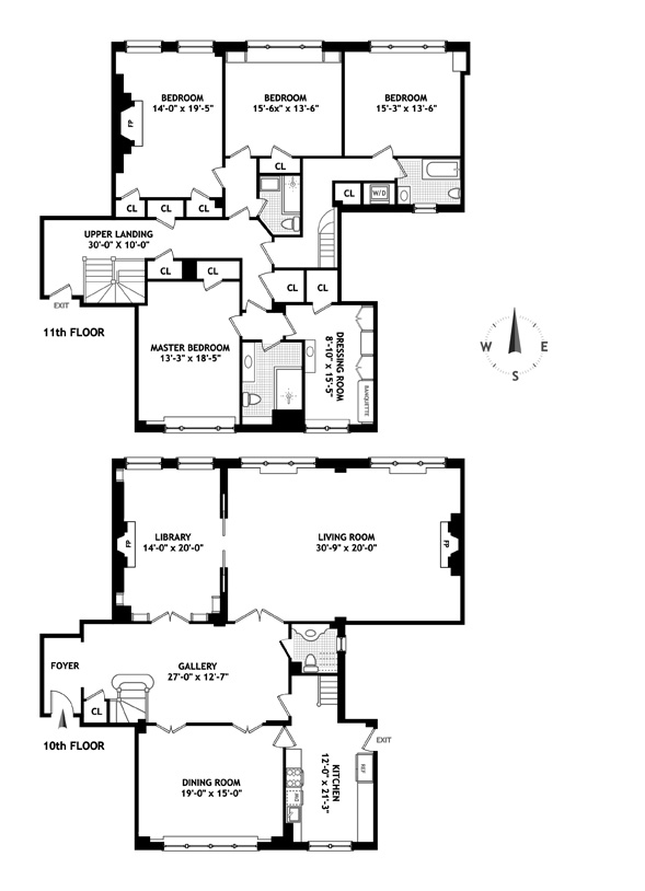 130 East 67th Street, Upper East Side, NYC, $7,300,000, Web #: 9839014