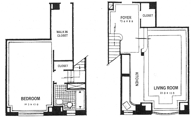 25 Central Park West, Upper West Side, NYC, $1,750,000, Web #: 986002