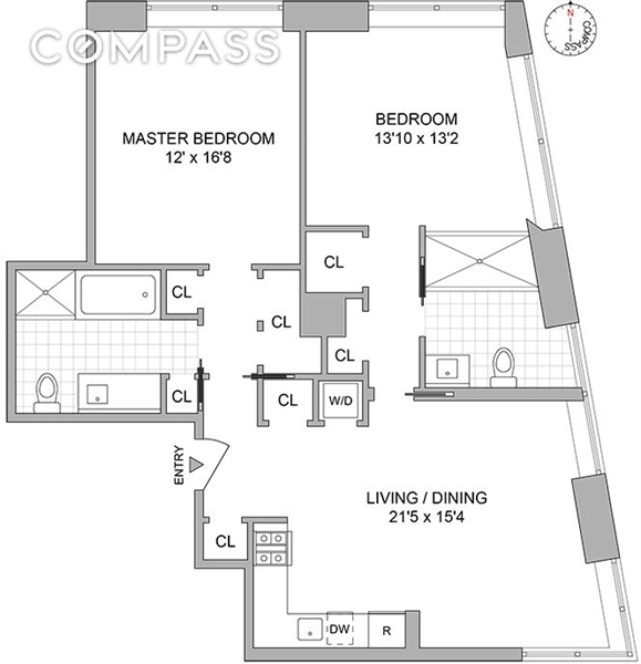 123 Washington Street, Financial District, NYC, $2,250,000, Web #: 1549484