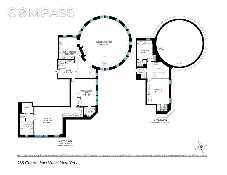 455 Central Park W, Manhattan Valley, NYC, $25,000, Web #: 1744561