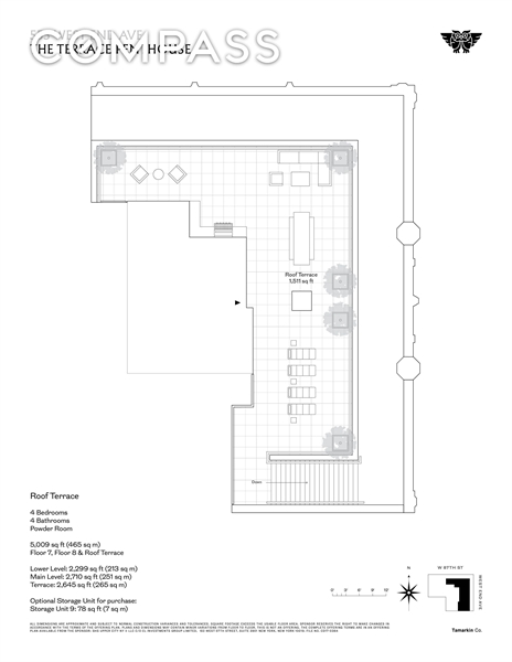 555 West End Ave, Upper West Side, NYC, $22,500,000, Web #: 1886113
