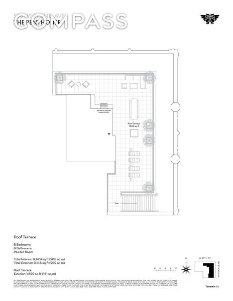 555 West End Ave, Upper West Side, NYC, $42,000,000, Web #: 1929523