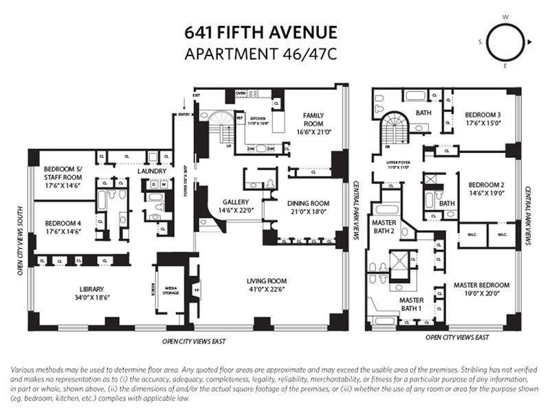 641 5th Ave, Midtown East, NYC, $59,000, Web #: 20919325