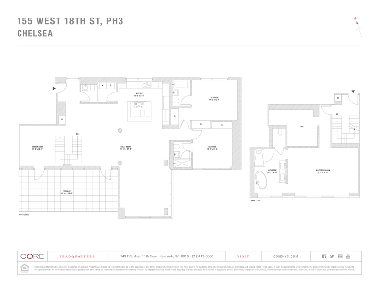 155 West 18th Street, Chelsea, NYC, $29,000, Web #: 3552487
