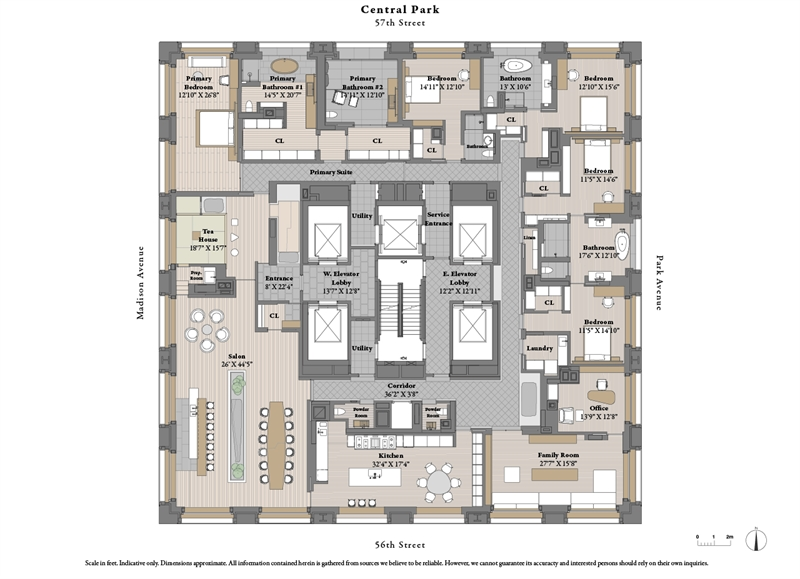 432 Park Ave, Midtown East, NYC, $135,000,000, Web #: 3601380