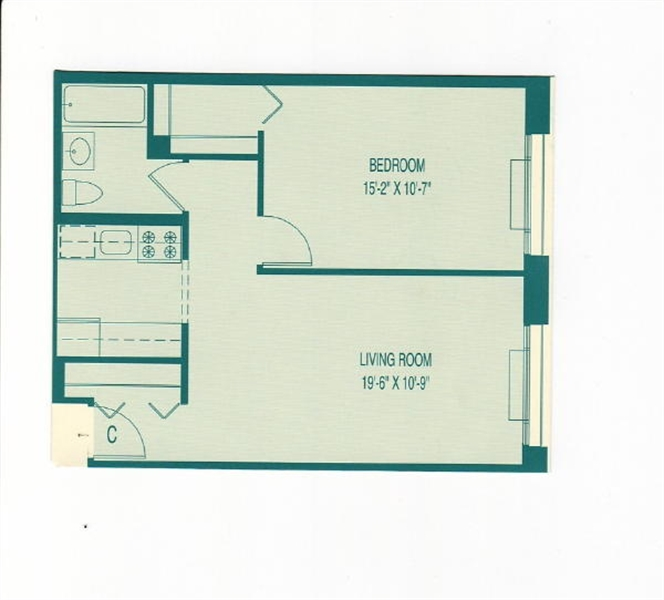 460 West 20th Street, Chelsea, NYC, $4,200, Web #: 89129