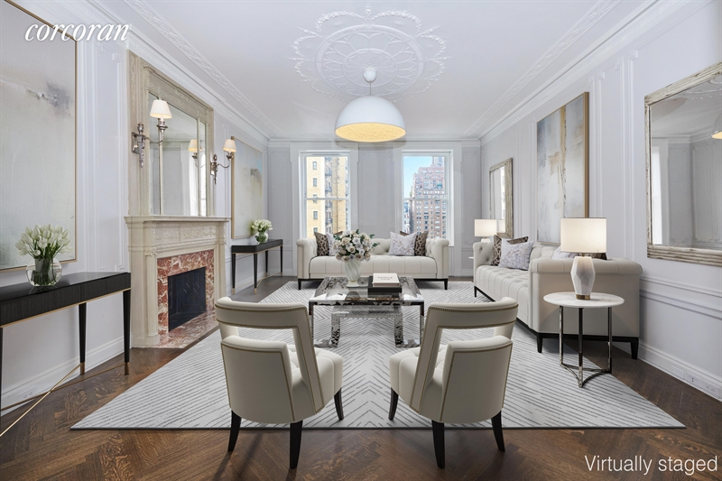 390 West End Ave, Upper West Side, NYC, $8,250,000, Web #: 6107201