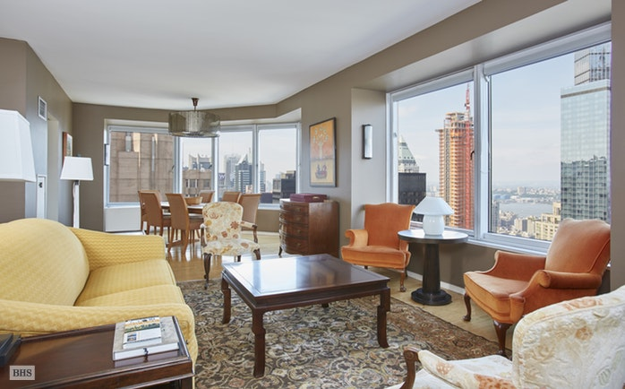 150 West 56th Street 5004, Midtown West, NYC, $2,850,000, Web #: 15372212