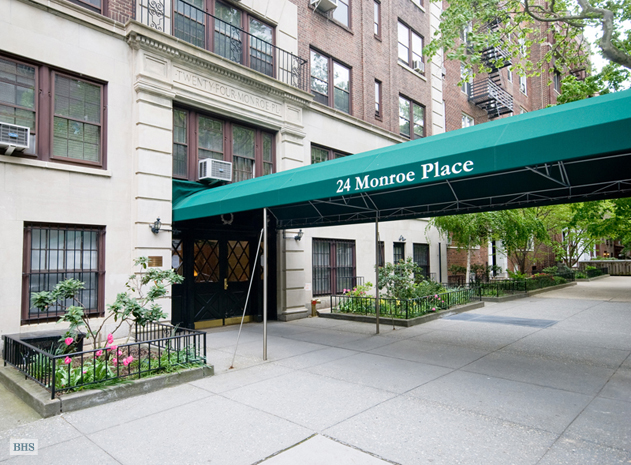 24 Monroe Place, Brooklyn, New York, $1,195,000, Web #: 1559030
