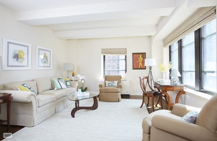 43 West 61st Street 12E, Upper West Side, NYC, $1,650,000, Web #: 16865620