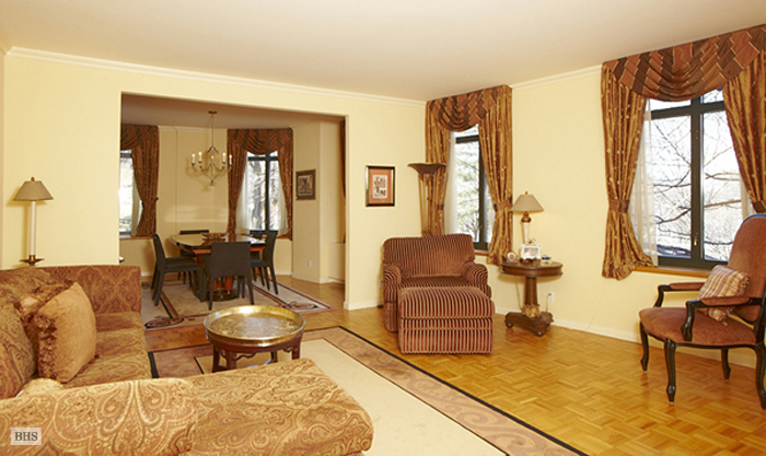 222 Riverside Drive, Upper West Side, NYC, $2,100,000, Web #: 1716087