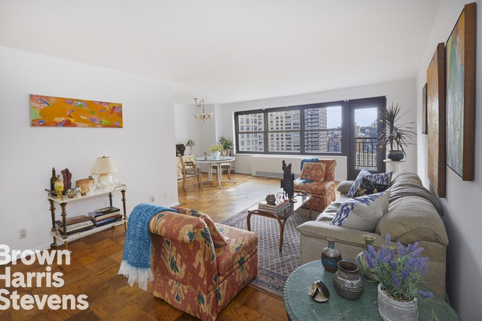 140 West End Avenue 24N, Upper West Side, NYC, $1,215,000, Web #: 17961778