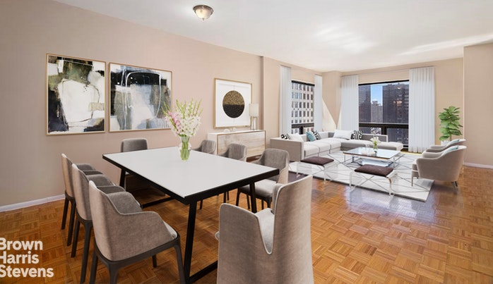 721 Fifth Avenue 54H, Midtown East, NYC, $1,475,000, Web #: 19514142