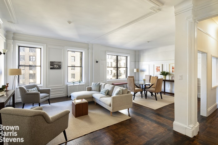 817 West End Avenue 8B, Upper West Side, NYC, $2,100,000, Web #: 19565155