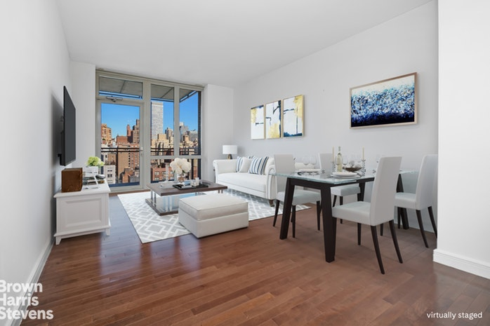 225 East 34th Street 19D, Midtown East, NYC, $4,000, Web #: 19712448