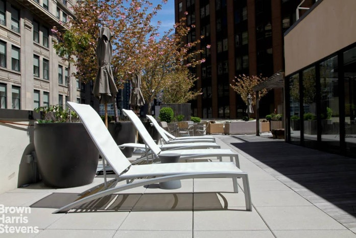 1 Wall Street Court 904, Financial District, NYC, $630,000, Web #: 19805238