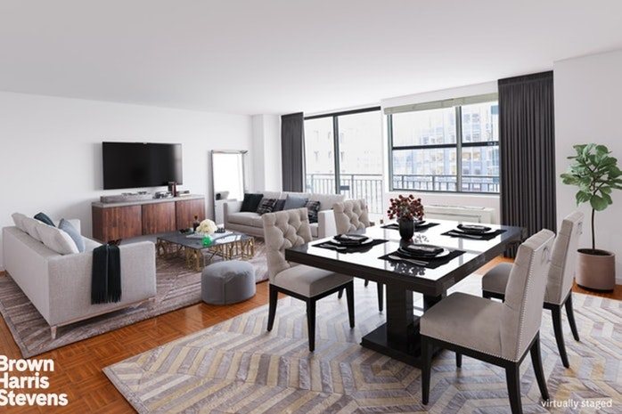 112 West 56th Street 14S, Midtown West, NYC, $1,310,000, Web #: 19827958