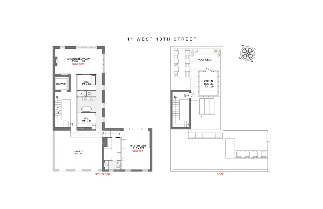 11 West 10th Street, Central Village, NYC, $50,000,000, Web #: 19989562
