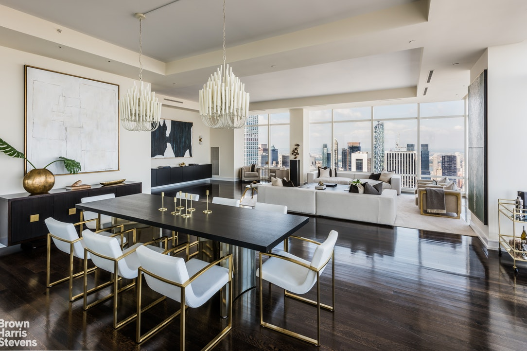 151 East 58th Street Ph53w, Midtown East, NYC, 10022, $17,500,000, Property For Sale, Halstead Real Estate, Photo 4